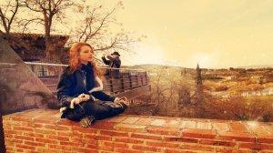 Eu quero um lugar assim para meditar, todos os dias!
